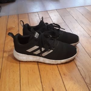 Adidas shoes.  No wear, just a bit of dirt.